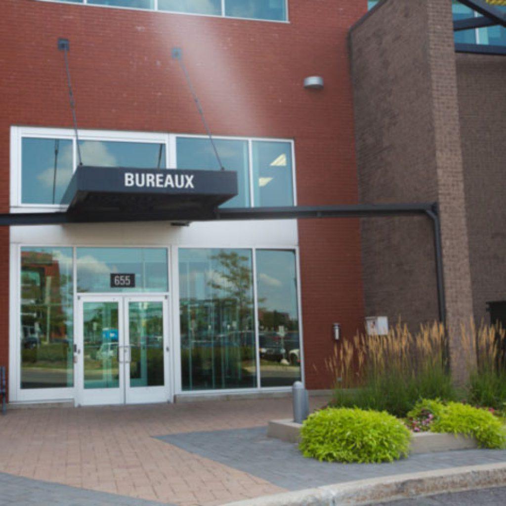 Okiok's office entrance